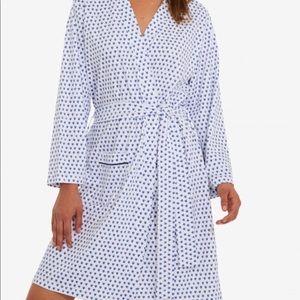 Roller Rabbit 100% Pima cotton jersey robe